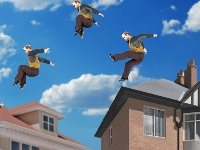 Picture of Jump on roofs