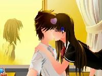 תמונה של נשיקה ראשונה