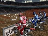 Picture of 3d Motorcycle race