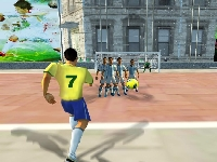 Picture of Soccer against The Wall
