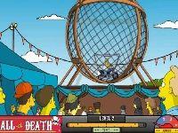 תמונה של הסימפסון בכדור המוות