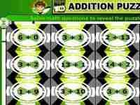 Picture of Ben 10 Addition Puzzel