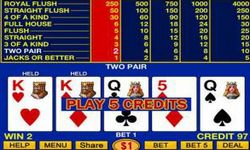 Picture of Video Poker