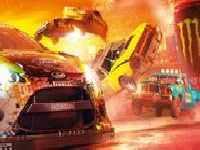 תמונה של מכוניות מתנגשות 1