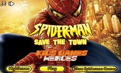 תמונה של ספיידרמן מציל את העיר